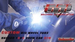 Video Custom Big Wheel Tubs '65 Crew Cab Chevy download MP3, 3GP, MP4, WEBM, AVI, FLV Juli 2018