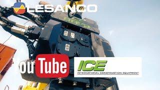 Lesanco viser ICE 8RFB hydraulisk vibrator