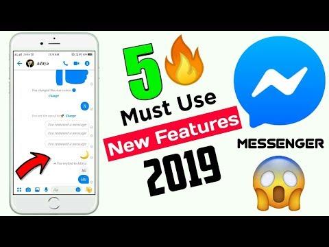 Top 5 New Features Of Messenger 2019 | 5 Useful Messenger Features 2019 | Facebook Messenger Trick