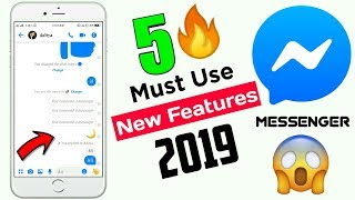 Top 5 New Features of Messenger 2019 | 5 Useful Messenger Features 2019 | Facebook Messenger Trick