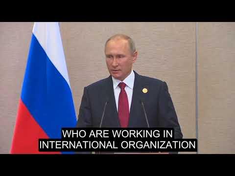 Putin about closure of diplomatic missions at BRICS Xiamen Summit 2017