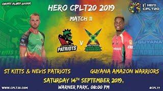 Match 11 Highlights | #SKPvGAW | #CPL19