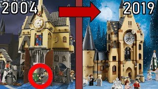 Alt Gegen Neu Lego Harry Potter 2019 Sets Im Vergleich 2001 2019 Youtube