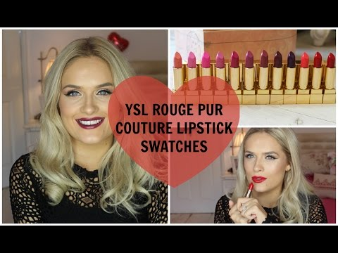 ysl-rouge-pur-couture-lipstick-swatches-♡