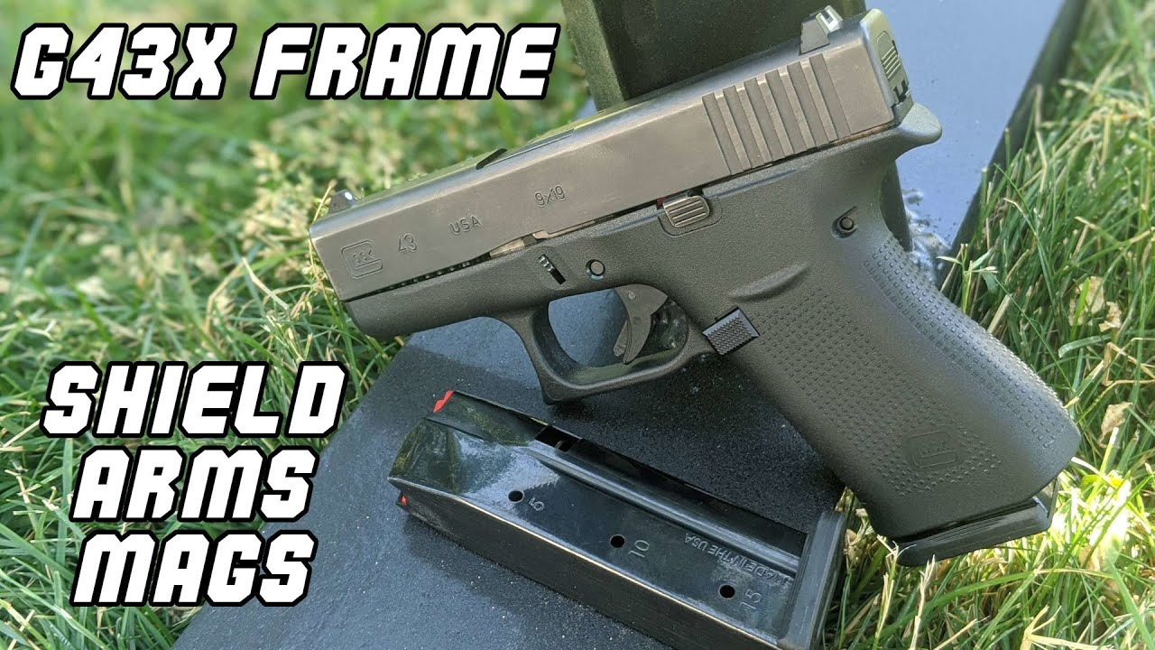 G43x Frame and Shield Arms 15 round mags - G19 replacement?