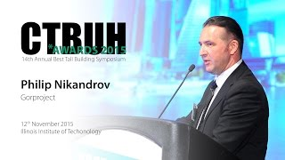 CTBUH 14th Annual Awards - Philip Nikandrov, Evolution Tower, Moscow