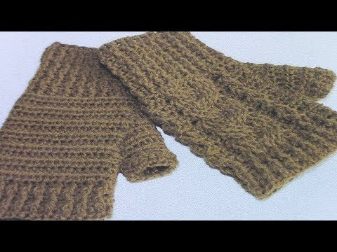Crochet 6 post reverse cable