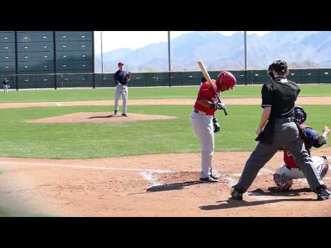 Dylan Baker vs Reds High A 20150320