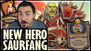 HOW TO PLAY SAURFANG! - Hearthstone Battlegrounds