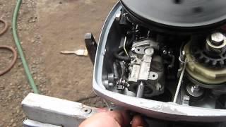 Johnson Evinrude 9.9/15 hp carburetor adjust how to.