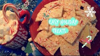 Easy DIY Holiday Treats! ❄️ Thumbnail