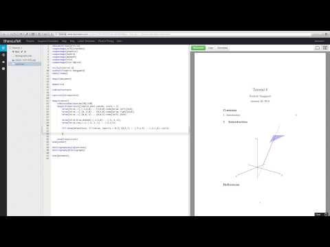 Learn LaTeX 8 - 3D Images in Tikz - YouTube