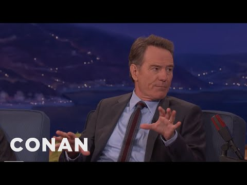 Bryan Cranston Was Caught Having Sex On A Train  - CONAN on TBS