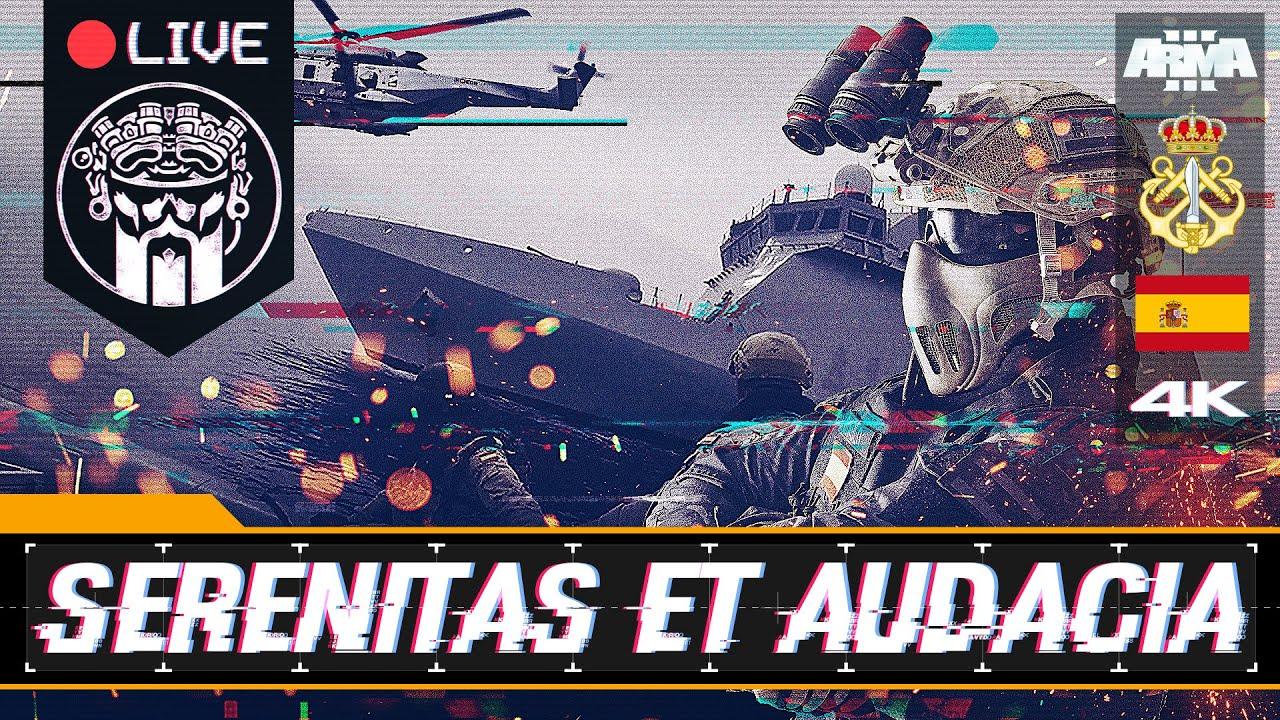 OPERACIÓN SERENITAS ET AUDACIA - ARMA3 4K - FGNE - SQUAD ALPHA - DIABLO HELMETCAM - Español