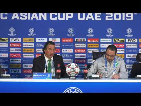 Saudi Arabia v DPR Korea post-match press conference