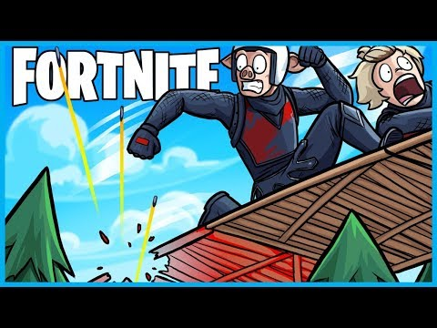 How NOT to Build a SKY BRIDGE in Fortnite: Battle Royale! (Fortnite Funny Moments & Fails)