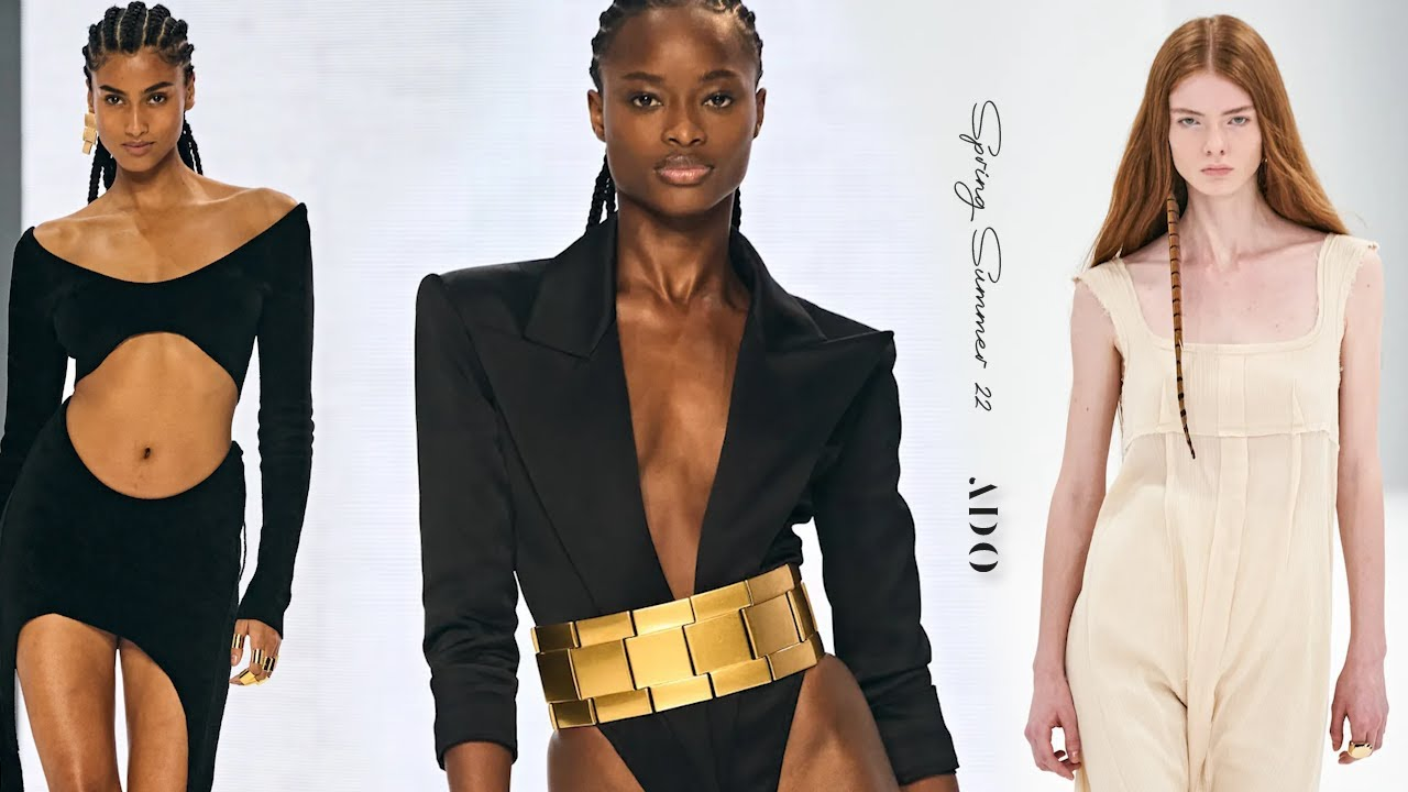 60 Best Models of Spring Summer 22   Runway Collection