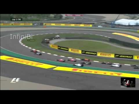 F1. GP de Shanghai China, Rosberg Ganador