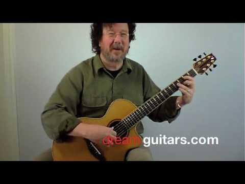 Custom Tony Vines Artisan Guitar Played By Al Pett...