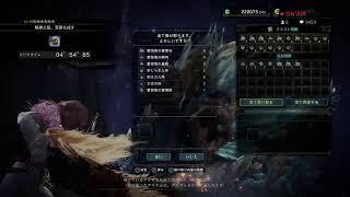 [MHW : I]接続切れたら即終了でちょいやっさぁ!全知全能5乙の女神はアイスボーンでもその名を轟かせる生放送