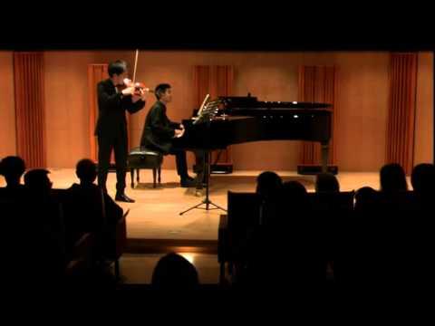 Prokofiev violin sonata op.94------Richard Lin , Robert Lin