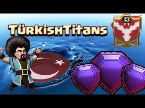 TürkishTitans Efsaneler Diyarı - Hem Saldırı Hem Savunma (-51 Kupa İcerir) | Clash Of Clans