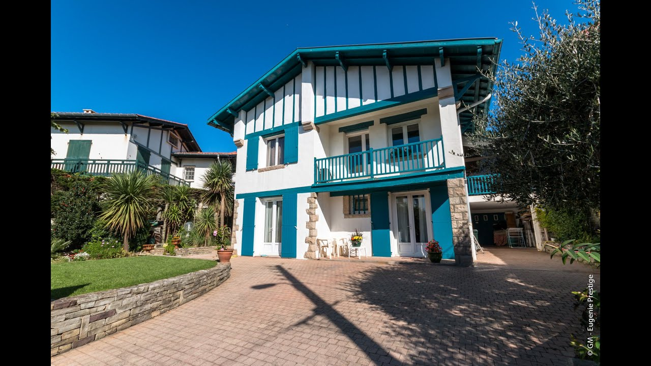 particulier vente maison prestige biarritz golf proche