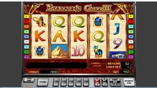 Как выиграть в казино Вулкан. Как обмануть слот Pharaons Gold 3