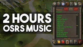 2 Hours of Classic Oldschool Runescape Music - Relaxing Soundtrack to Fall Asleep To! [OSRS]