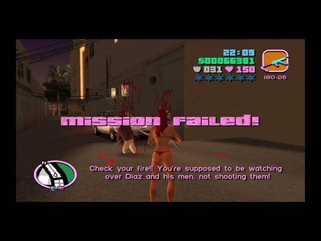 Grand Theft Auto: Vice City Candy Suxx Kills Ricardo Diaz