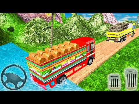 Indian Cargo Truck Driver Simulator | Offroad Truck Driving | Android GamePlay thumbnail