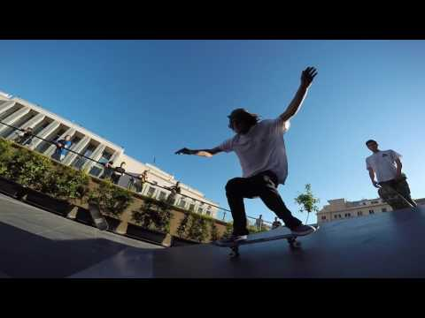 Authentic goes to Law Skatepark in Palermo - Jun '17