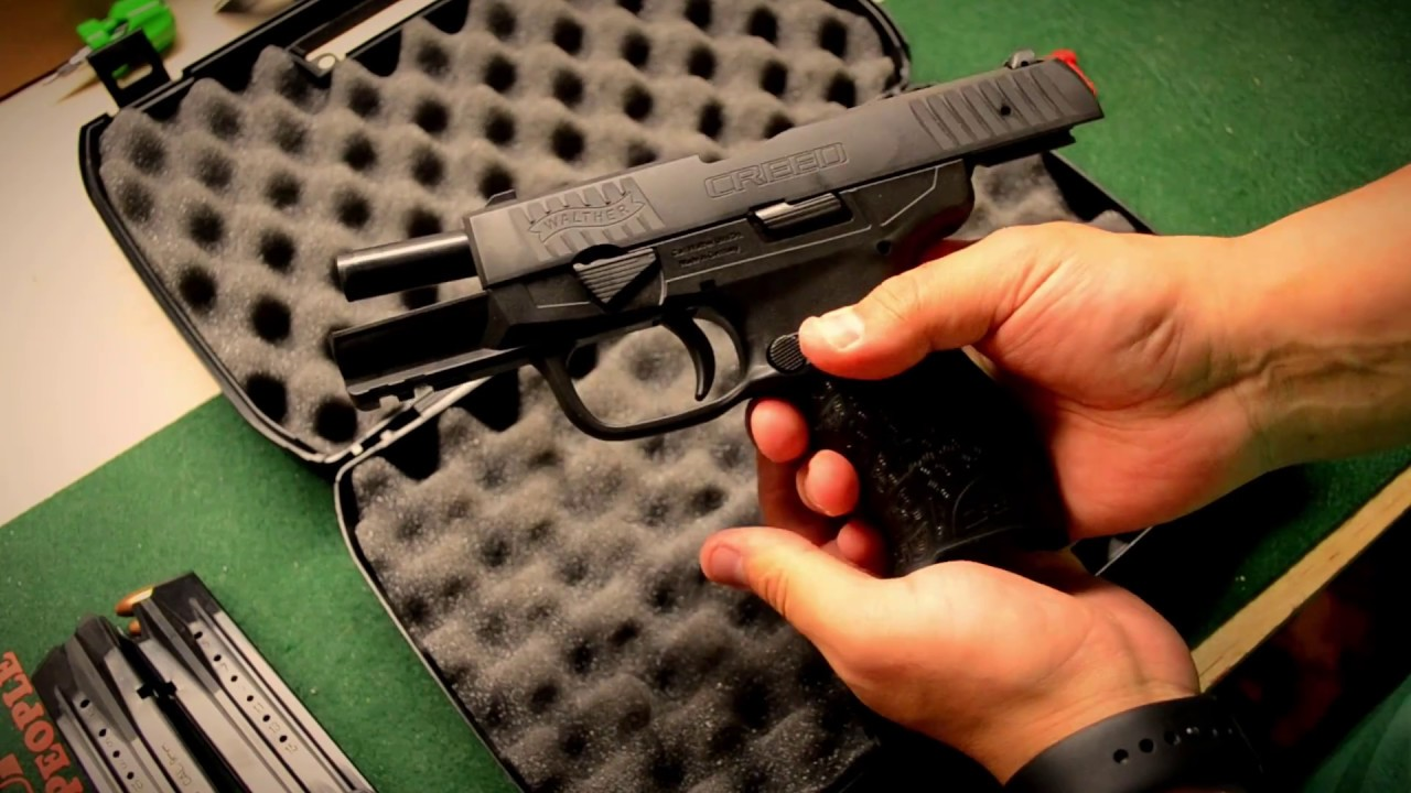 Walther Creed Pistol Review