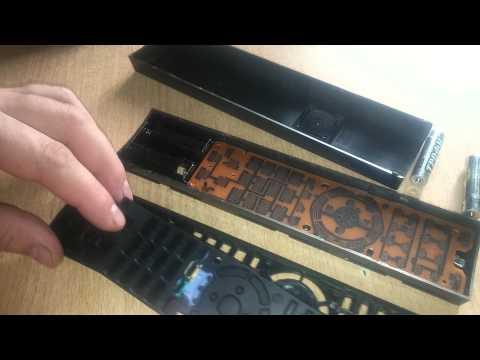 Чистка пульта ДУ ТВ Sony KDL.