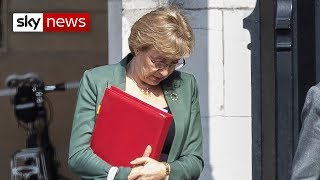Commons leader Andrea Leadsom quits government