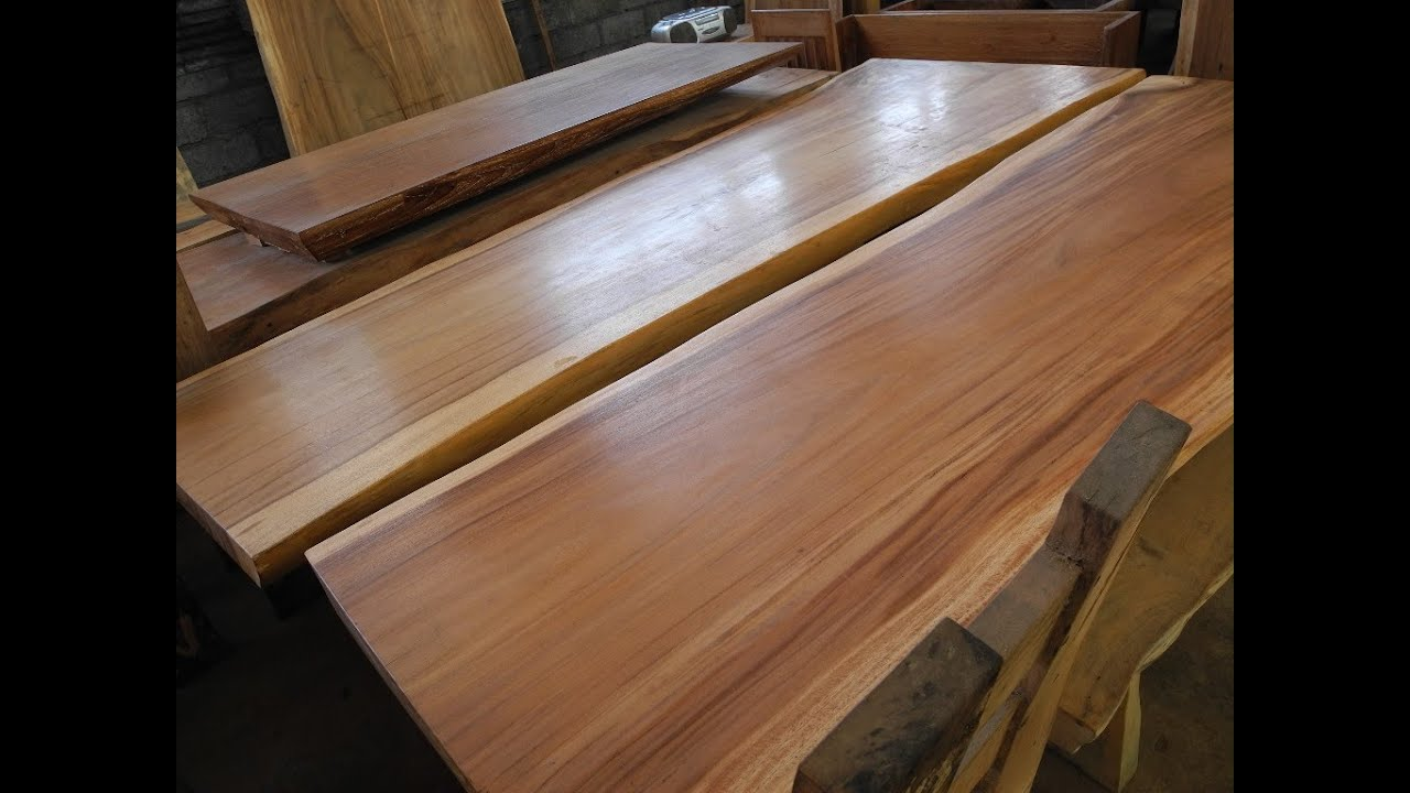 Merveilleux Acacia Wood Furniture | Acacia Table Top   YouTube