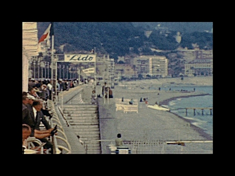 Nice 1960 archive footage