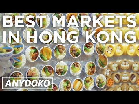 The Best Authentic Market Shopping in Hong Kong!