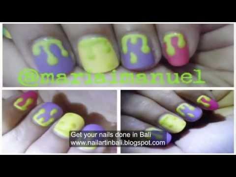 Nail art in Bali 1