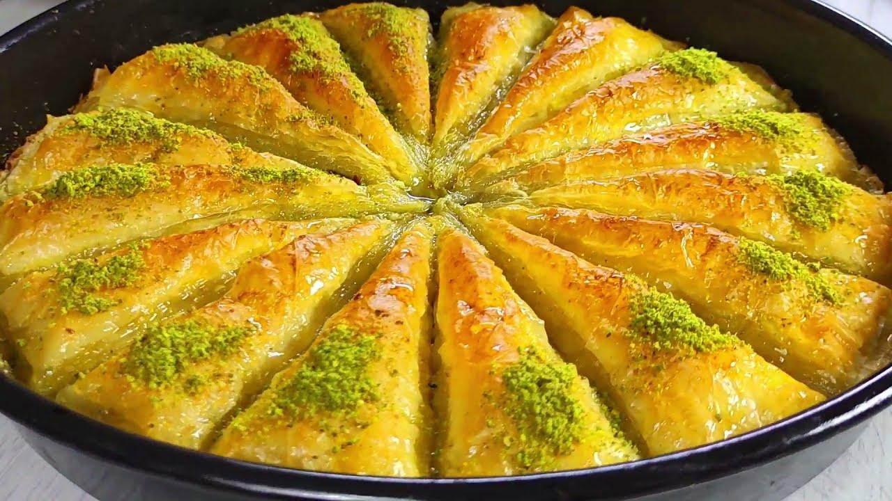 البقلاوة التركية🇹🇷 وطريقة التحضير مع الشيف يحيى عقاد ويلا نطبخها صح🌙 رمضانكم مبارك🌙