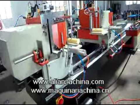 Maquina para fabricar ventana y puerta pvc 11 youtube for Perfiles pvc para aberturas