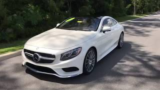 2015 MERCEDES-BENZ S550 COUPE PRE-OWNED / WALKAROUND / BMW OF OCALA / 20IN WHEELS