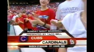 130 - Cubs at Cardinals - Sunday, August 27, 2006 - 7:05pm CDT - ESPN