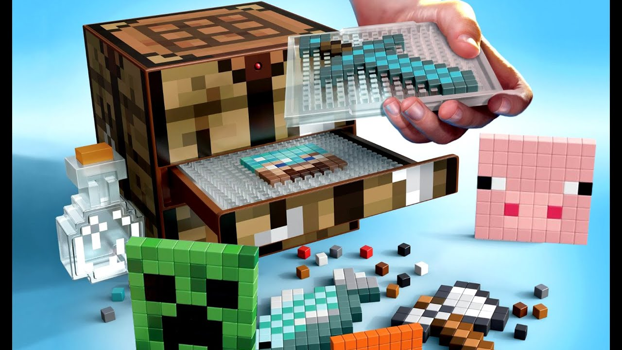 Minecraft crafting table by mattel review kids videos by minecraft crafting table by mattel review kids videos by kokatube youtube gamestrikefo Gallery