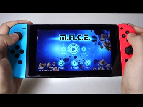 M.A.C.E. Space Shooter - Nintendo Switch gameplay