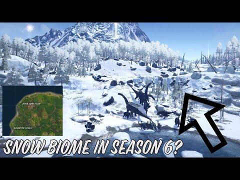 SNOW BIOME IN SEASON 6? - Fortnite Battle Royale!