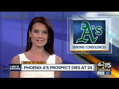 Phoenix Desert Vista grad, A's prospect Casey Thomas dies suddenly at age 24