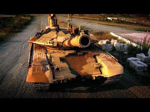 UralVagon Zavod - Military Assets Live Firing At RAE 2013 [1080p]