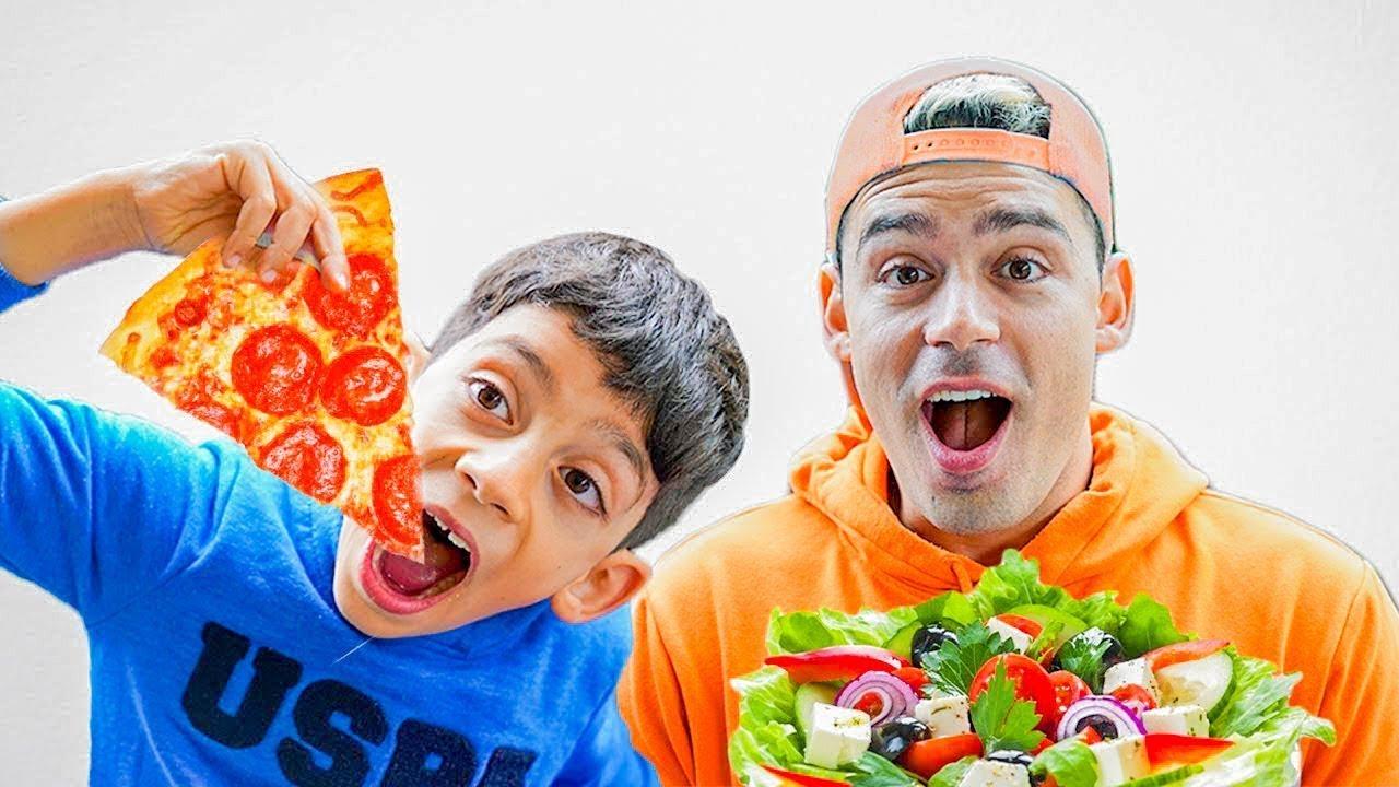 Jason Alex के लिए सबसे अच्छा भाई बनना चाहती है | बच्चों के लिए उचित पोषण