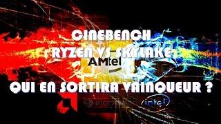 Video RYZEN VS SKYLAKE - CINEBENCH MONOCOEUR - R7 1800X VS i5 6600K download MP3, 3GP, MP4, WEBM, AVI, FLV Oktober 2018